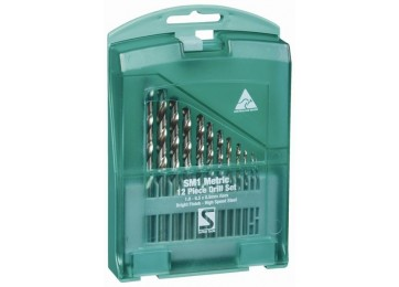 DRILL BIT SET - 12PC METRIC
