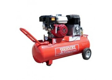 AIR COMPRESSOR - PETROL - 6.5HP - 70L - 20CFM