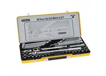 "SOCKET SET 1/2""DR 38PC COMBO STANLEY"