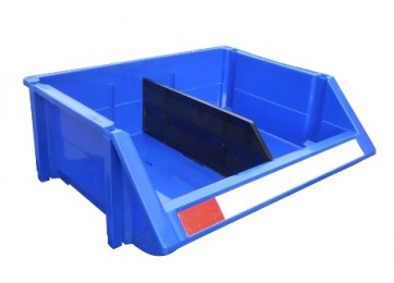 INTERLOCKING PARTS BINS WITH DIVIDER- 350MM