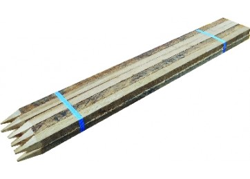 WOODEN STAKES 10PK - 900MM