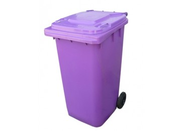 WHEELIE BIN 240LTR - PURPLE