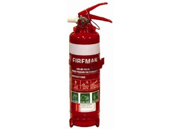 FIRE EXTINGUISHER 1 KG ABE