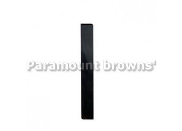 50 X 50 X 1500MM FENCE POST - BLACK