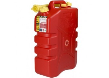 JERRY CAN PLASTIC 20L - RED