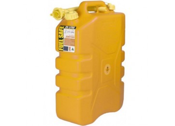 JERRY CAN PLASTIC 20L - YELLOW