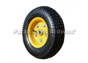 WHEEL PNEUMATIC - 325MM / 16MM - YELLOW