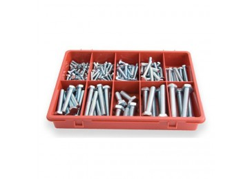 TRADE PACK - HEXAGON BOLTS 145PC