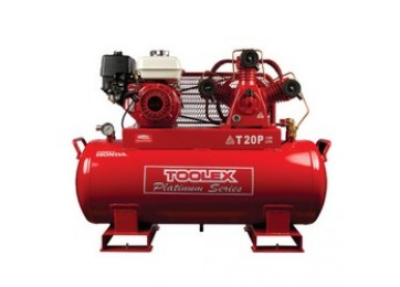 AIR COMPRESSOR - PETROL - 6.5HP - 120L - 15.5CFM