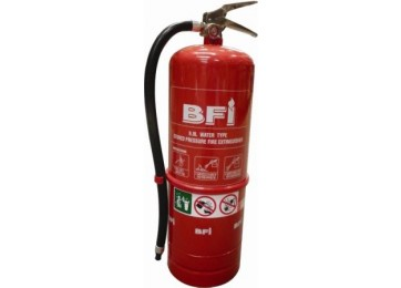 FIRE EXTINGUISHER 9KG AIR WATER