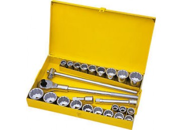 "SOCKET SET 3/4""DR 26PC STANLEY"