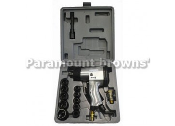 "AIR IMPACT WRENCH KIT - 1/2"" 17PC"