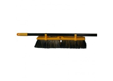 INDUSTRIAL BROOM & HANDLE - 450MM