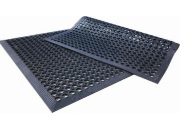 RUBBER ANTI-FATIGUE MAT - 1524 X 914 X 12MM