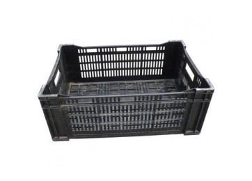 VENTED BLACK CRATE