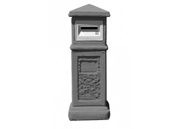 LETTERBOX - MURRAY CHARCOAL