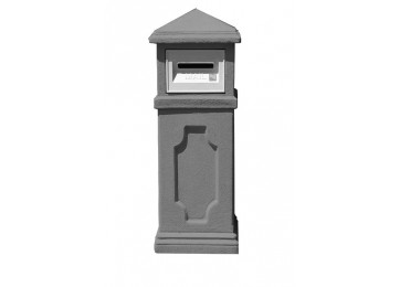 LETTERBOX - WILLOW CHARCOAL