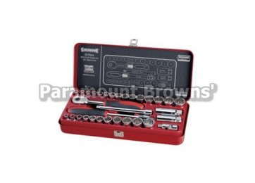 "SOCKET SET 3/8""DR 32PC SIDCHROME"