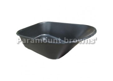 POLY WHEEL BARROW TRAY - 6CU/FT