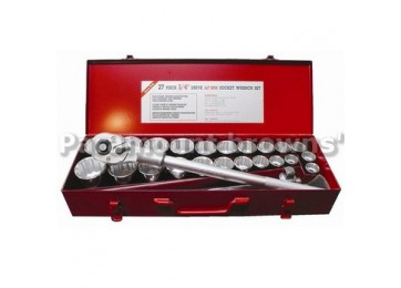 "SOCKET SET 3/4""DR 27PC PARAMOUNT"
