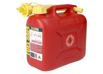 JERRY CAN PLASTIC 5L - RED