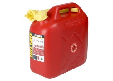 JERRY CAN PLASTIC 10L - RED