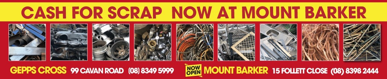 Scrap Metal Recycling Paramount Browns Adelaide
