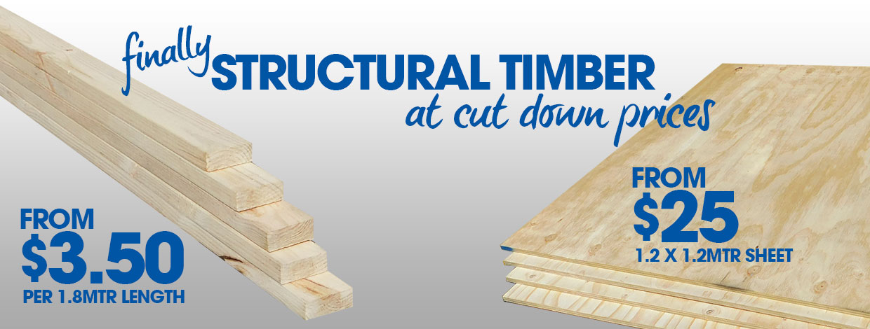 Structural Timber Now Available