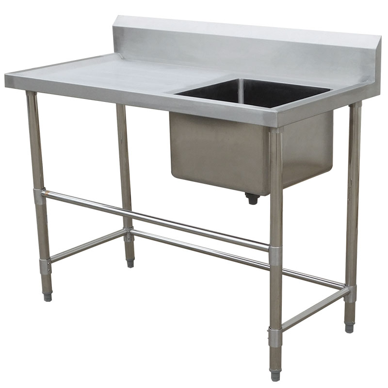 STAINLESS STEEL BENCH / SINK 1200MM