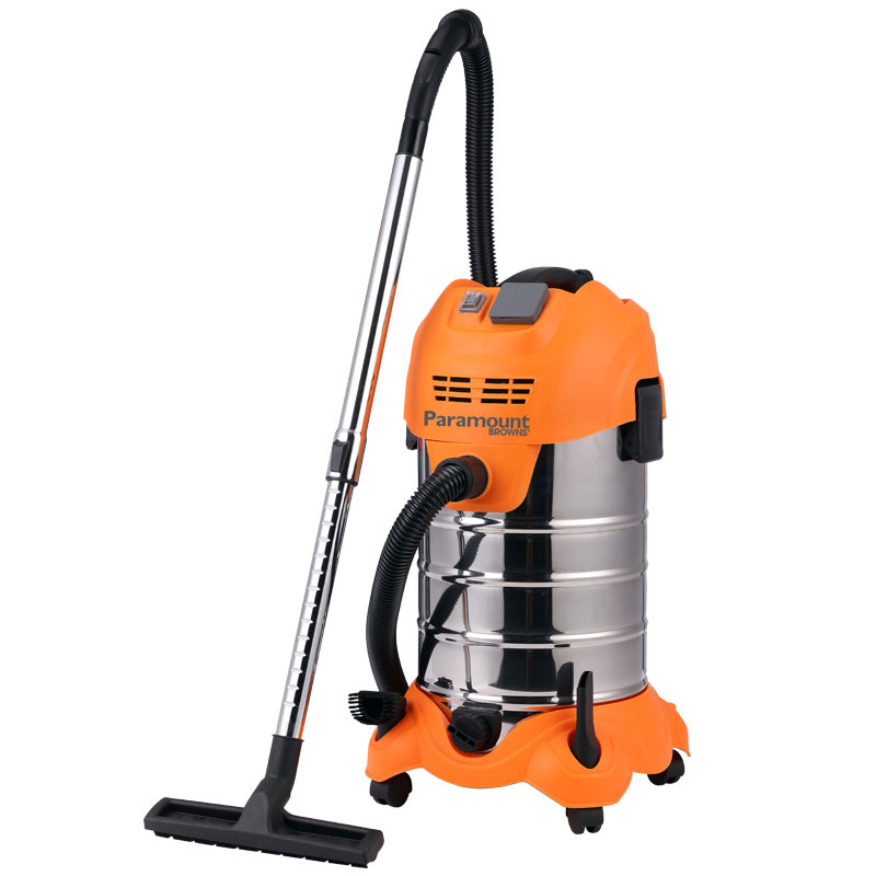 Stainless Steel 30l Wet Dry Vacuum Paramount Browns