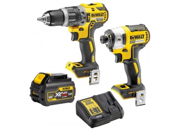 18V 6.0AH Li-ION BRUSHLESS CORDLESS 2PC COMBO KIT