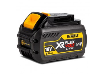 18V/54V XR LI-ION FLEXIVOLT 6.0AH CORDLESS BATTERY