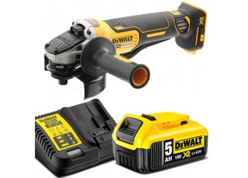 18V XR CORDLESS BRUSHLESS 125MM ANGLE GRINDER 5AH KIT