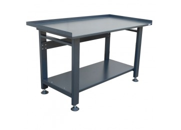 STEEL WORK BENCH - ADJUSTABLE FEET