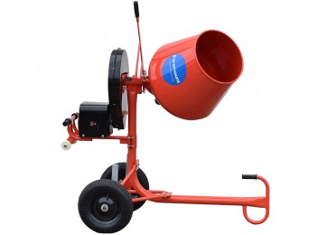 INDUSTRIAL ELECTRIC CEMENT MIXER 2.2CU/FT