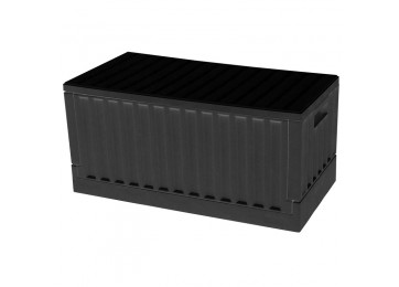 COLLAPSIBLE STORAGE BOX - BLACK
