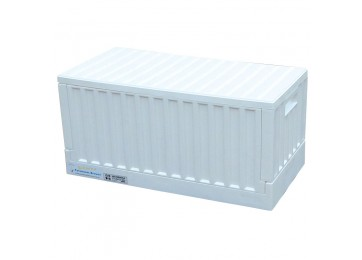 COLLAPSIBLE STORAGE BOX - WHITE