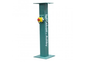 BENCH GRINDER STAND WITH EMERGENCY STOP