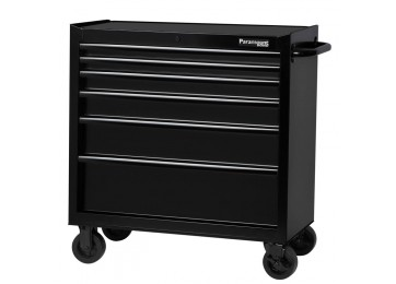 LARGE ROLL AWAY TOOL CHEST - 6 DRAWER
