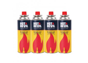 BUTANE GAS CARTRIDGE - 4 PACK