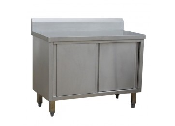 STAINLESS STEEL CABINET BENCH
