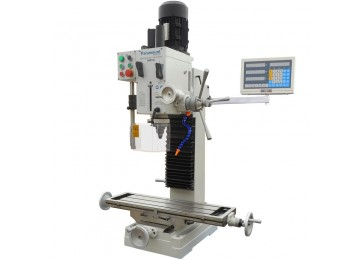 MILLING MACHINE - DOVETAIL SHAFT DRO WITH COOLANT SYSTEM