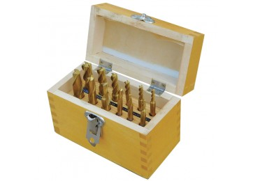 MILLING CUTTER SET 12PC - METRIC