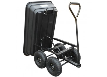 TIPPER POLY GARDEN CART