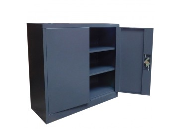 STORAGE CABINET 0.9M DARK GREY
