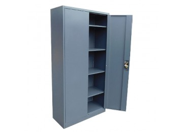 STORAGE CABINET 1.85M DARK GREY