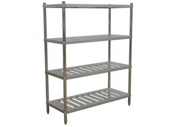 STAINLESS STEEL SHELVING UNIT 1200MM