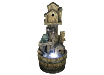BIRD HOUSE 80CM WATER FEATURE