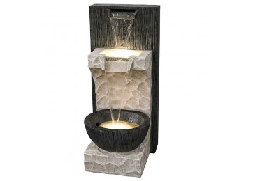TWIN FALL 82CM WATER FEATURE