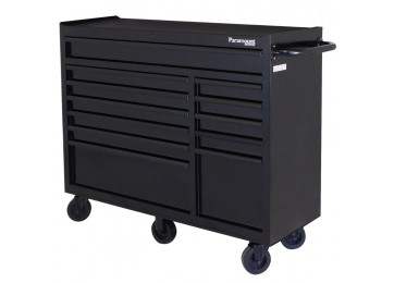LARGE ROLL AWAY TOOL CHEST - 12 DRAWER